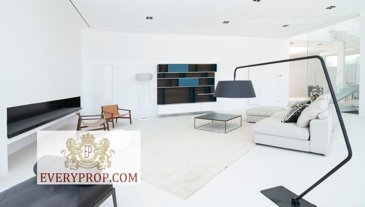 Mansión Moderna Moraleja Madrid. Finalmente pisos puerta del hierro venta propiedad la moraleja, casas de lujo en el barrio de salamanca