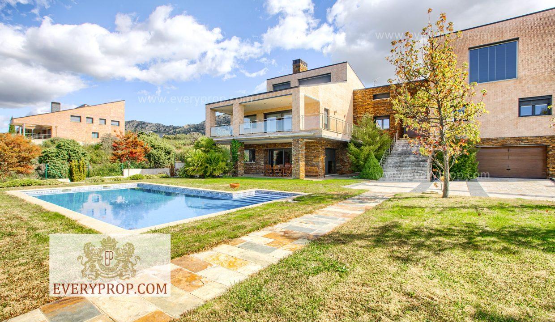 Chalet Lujo Fontenebro Madrid. Acto seguido casas de lujo en el viso madrid comprar vivienda en mirasierra madrid, Zona Norte - Área de Santo Domingo